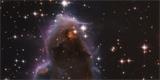Hubbleův vesmírný dalekohled zachytil rodící se hvězdu. Podívejte se