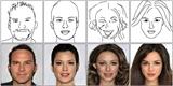 Umělá inteligence promění skici nebo rozpixelované tváře v portréty