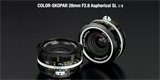 Voigtlander Color-Skopar 28 mm F2,8 SL II S Aspherical – prémiové manuální sklo pro Nikon F