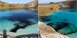 """Když zákazy nestačí, lije se do """"malebných"""" toxických jezer černá barva"""