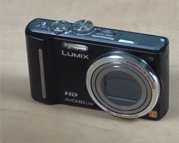 Panasonic DMC-TZ10: kompakt s GPS (video)