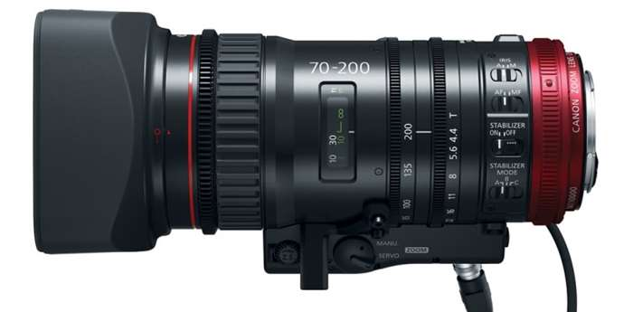 Canon CN-E70–200 mm T4,4 L IS KAS S